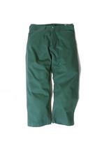 Cotton Twill Frisco Pants/ green