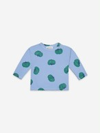 BOBO CHOSES ボボショセス Tomatoes All Over Long Sleeve T-shirt(左肩スナップ付) size:12-18M(80-90)・18-24M(90-95)