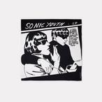 ブランケット / Sonic Youth Goo Blanket Black 150×150cm (ソニックユース グー) / WOOUF! BARCELONA (ウーフバルセロナ)