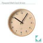 KATOMOKU plywood wall clock km-34M
