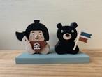 五月人形 金太郎と熊