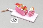 ②カットロールケーキ
