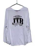 【JTB】 ROUND ロングスリーブTシャツ【ホワイト】【再入荷】イタリアンウェア【送料無料】《M&W》