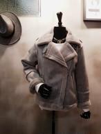 ムートンミンクジャケット ムートンジャケット ジャケット 韓国ファッション