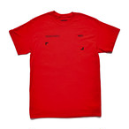 SEASONING COLOR S/S TEE  - RED