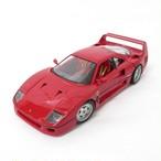 Bburagoブラーゴ 1:18 フェラーリ オリジナルシリーズ F40 レッド No.200-363