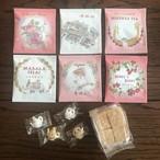 【ポスト投函ミニギフトB】お菓子&ポットシュガー&ティーバッグ6袋