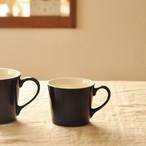 【SL-0035】*美濃焼* 磁器 マグカップ ネイビー Sサイズ