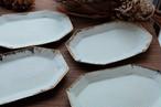 Acne pottery studio 八角皿(ミントグリーン)