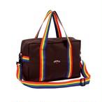 Rainbow Strap Daypack(Chocolate)