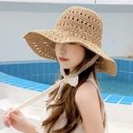 【6/18まで30%OFF!!】ガーリー デザイン レース リボン 帽子 2色 B7390