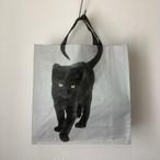 黒猫のショッピングバッグ