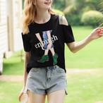 【tops】定番商品ベアトップ3色売れ筋好感度アップTシャツ 22560861