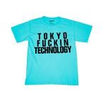 TOKYO FUCKIN TECHNOLOGY TEE [Lagoon Blue]