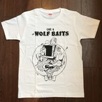 ウルフベイツTシャツ《White》