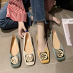 【shoes】韓国ファッションレトロ履き心地よいシューズ