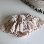 【即納】スカート付きふわぽこスカートブルマ 韓国子供服 ベビー服 ベビーブルマ ベビースカート 出産祝い