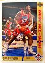 NBAカード 91-92UPPERDECK Kevin Duckworth #55 WEST ALL-STAR