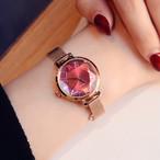 Julius AF-1019(Red) レディース腕時計