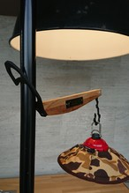 「予約注文」Lantern hanger Lloyd wood ランタンハンガーロイド ウッド CAMPOOPARTS&gravity-equipmentコラボ