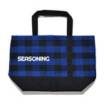 SEASONING TOTE BAG LARGE - BLUE