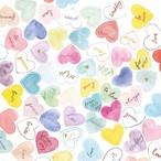 入荷しました|完売再入荷【Ambiente】バラ売り2枚 ランチサイズ ペーパーナプキン SWEET HEARTS パステル