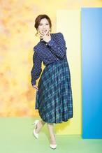 60's used skirt(sk-01)