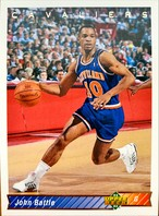 NBAカード 92-93UPPERDECK John Battle #218 CAVALIERS