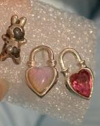 never end earring silver925 #LJ20034P