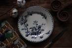 GIENジアン  'fleursrs normandes'シリーズ デザート皿