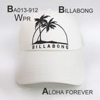 BA013-912 ビラボン レディース メッシュキャップ ALOHA FOREVER ホワイト系 ヤシ柄 ロゴ 人気 ブランド プレゼント おしゃれ 帽子 BILLABONG