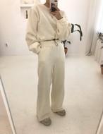 エラーセットアップ セットアップ スウェット 韓国ファッション