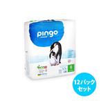 [12パックセット] Pingo プレミアムエコ紙おむつ(サイズ 6)