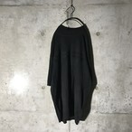 [used] black summer knit
