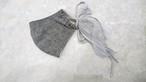 long ribbon 立体マスク gray