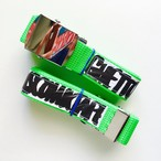 GHETTO DISCO MIXTAPE BELT [GREEN]