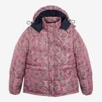 Paisley Cashball Puffer Jacket(Pink)