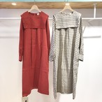 fig London / morning LINEN sailor dress