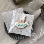 white  bird cookie (10個単位でご購入ください@594)