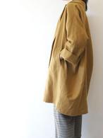 Brushed linen  big coat/Munich