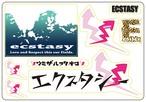 ECSTASY アソートステッカー