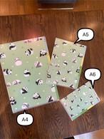 3ポケットクリアファイル A5サイズ