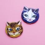 【再入荷】ナタリー・レテ 猫のコンパクトミラー