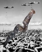 彦坂尚嘉『日本の惨劇ー東京大空襲#2』
