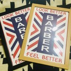 LOOK BETTER FEEL BETTER ホワイトフレーム
