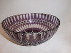 紫硝子鉢 glass bowl(purple color)
