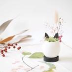 花の猫型盆栽「タマゴノコネコ」(可愛らしいピンク・紅)