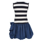 JESSIE AND JAMES  LONDON  [Scallop Dress~sallor stripe~] 100~130サイズ