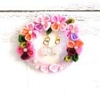 【Izuchi】ゆうげしょうの花環ブローチ/ブローチ
