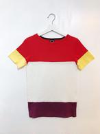 Colorful Tee【カラフル2WAY Tシャツ】L02